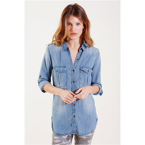 True Religion Women's Button Down Shirt